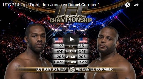 Jon Jones vs Daniel Cormier Full Fight Video