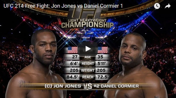 Jon Jones vs Daniel Cormier Full Fight Video