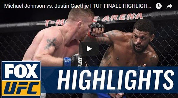 Michael Johnson vs Justin Gaethje Full Fight Video Highlights