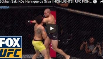 Gökhan Saki vs Henrique da Silva Full Fight Video Highlights