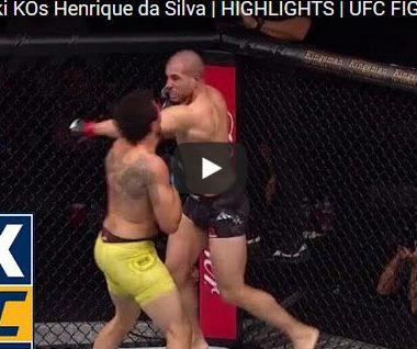 Gökhan Saki vs Henrique da Silva Full Fight Video Highlights