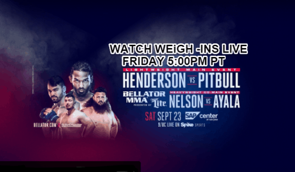 Bellator 183 Weigh-Ins