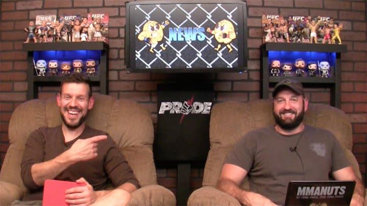 Struve vs Volkov Recap | Nate Diaz | MMANUTS MMA Podcast | EP # 351