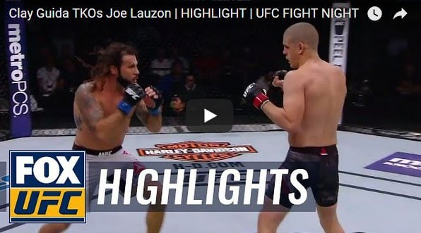 Clay Guida vs Joe Lauzon Full Fight Video Highlight