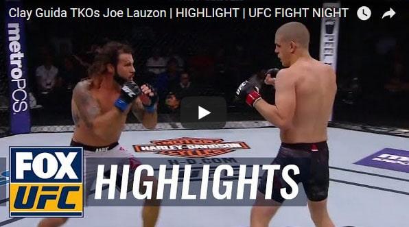 Clay Guida vs Joe Lauzon Full Fight Video Highlight