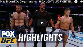 Matt Brown vs Diego Sanchez Full Fight Video Highlights