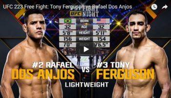 Tony Ferguson vs Rafael Dos Anjos Full Fight Video