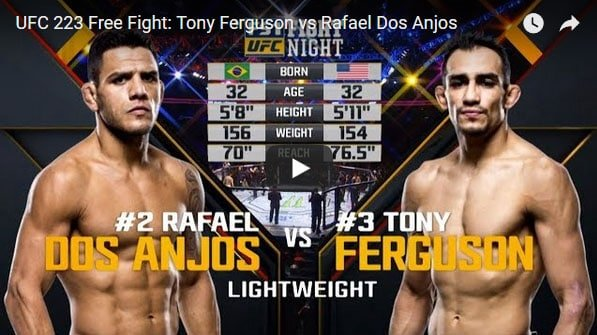 Tony Ferguson vs Rafael Dos Anjos Full Fight Video