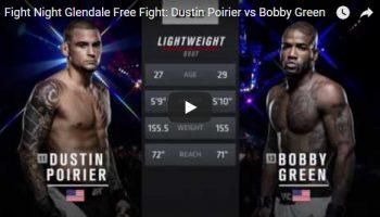 Dustin Poirier vs Bobby Green Full Fight Video