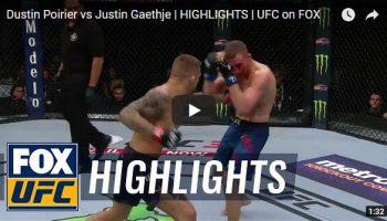 Dustin Poirier vs Justin Gaethje Full Fight Video Highlights