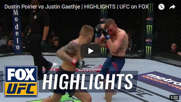 Dustin Poirier vs Justin Gaethje Full Fight Video Highlights