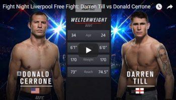 Darren Till vs Donald Cerrone Full Fight Video