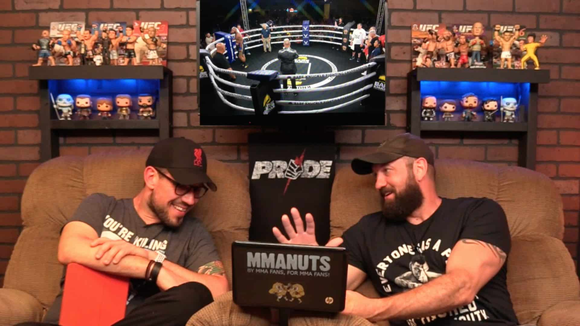 Bare Knuckle Fighting Championship Recap | MMANUTS MMA Podcast | EP # 385