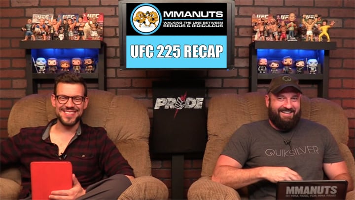 UFC 225 Recap   Whittaker vs Romero   MMANUTS MMA Podcast   EP # 386