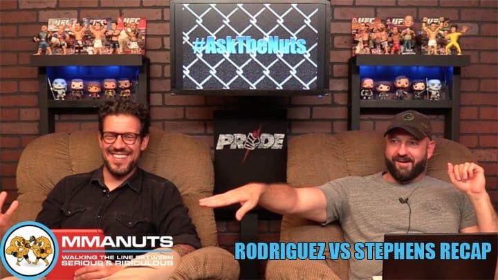 UFC Mexico Recap | Rodriguez vs Stephens | MMANUTS MMA Podcast | EP # 444