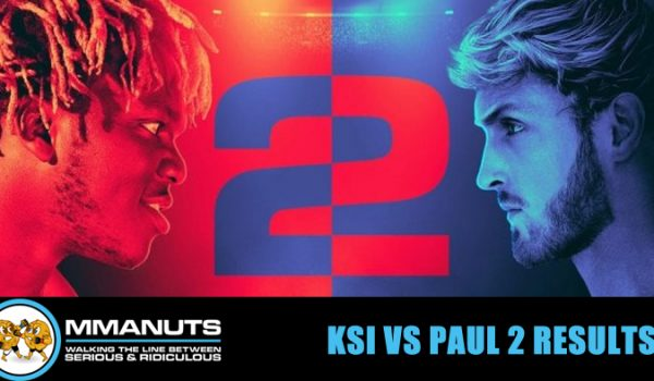 KSI vs Paul 2 results