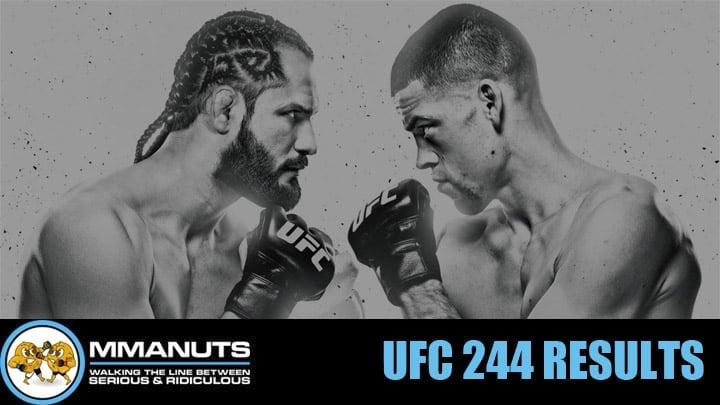 UFC 244 Results | Masvidal vs Diaz | MMANUTS MMA Podcast | EP # 450