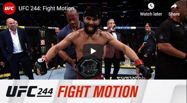 UFC 244 Slow-Mo