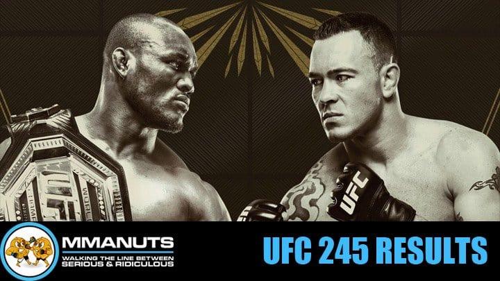 UFC 245 Results | Usman vs Covington | MMANUTS MMA Podcast | EP # 455