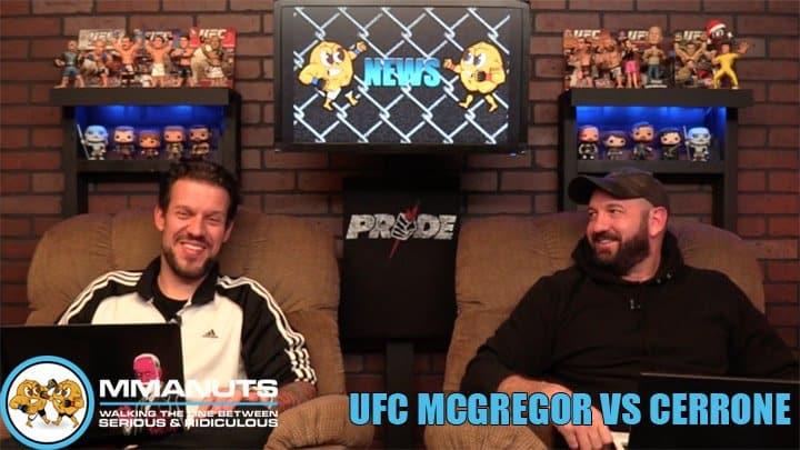 UFC McGregor vs Cowboy | MMANUTS MMA Podcast | EP # 453