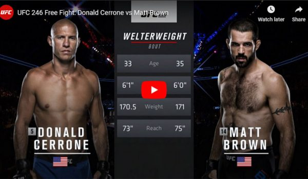 Cerrone vs Brown