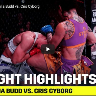 Cris Cyborg vs Julia Budd