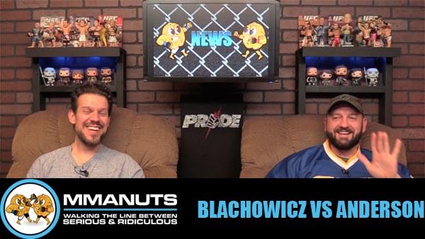UFC blackowicz vs anderson