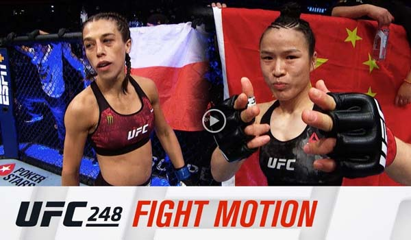 UFC 248 Fight motion