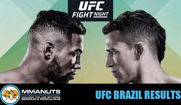 UFC Oliveira vs Lee Results
