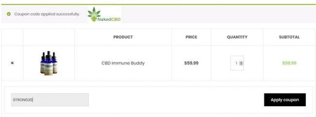 naked cbd coupon