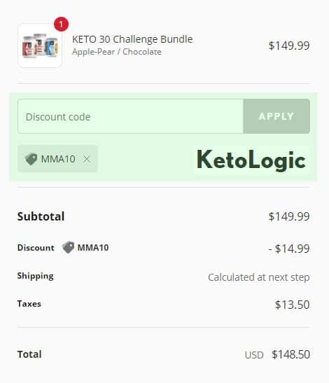 KetoLogic Coupon