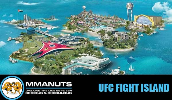 UFC fight island mma podcast
