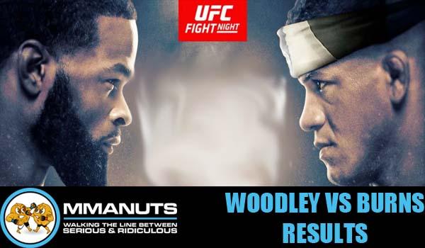 UFC Woodley vs Burns Results   MMANUTS MMA Podcast EP # 478
