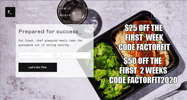 Factor Promo Code