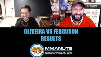 UFC Oliveira vs Ferguson results mma podcast